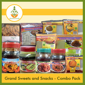 Grand Sweets & Snacks (Instant Food Combo Box)