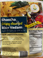 Shastha Crispy Assorted Rice Vadam (100 gms)