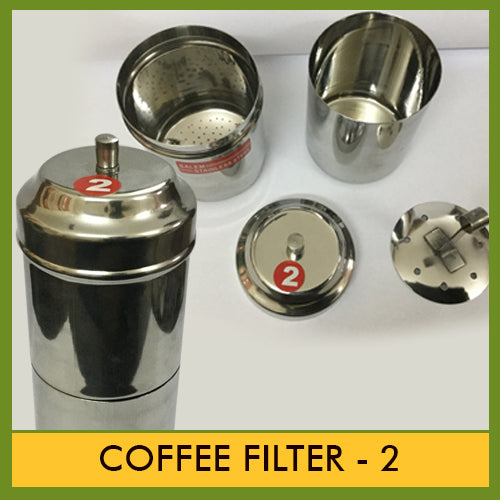 Stainless Steel Coffee filter # 2