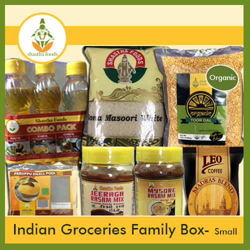 BUNDLE - 7 ITEMS (  Grocery Family Box - SMALL )