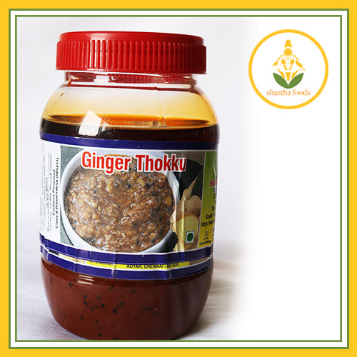 Grand Sweets & Snacks - Ginger Thokku (500 Gms)
