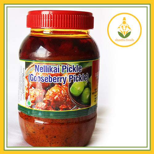 Grand Sweets & Snacks - Nellikai (Amla) Pickle (500 Gms)