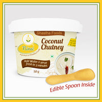 Shastha Ready to Eat (RTE) Instant Coconut Chutney