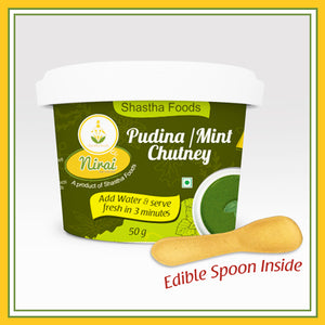 Shastha  Ready to Eat (RTE) Instant Mint Chutney