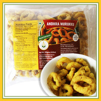 Grand Sweets & Snacks - Andhra Murukku (250 Gms)