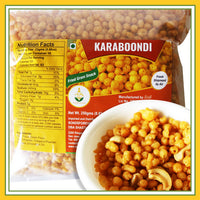 Grand Sweets & Snacks - Karaboondi ( Fried Gram Snack ) (250 Gms)