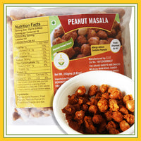 Grand Sweets & Snacks - Fried Peanut / Groundnut Masala (250 Gms)