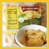 Grand Sweet & Snacks -Salted Potato Chips (250 Gms)