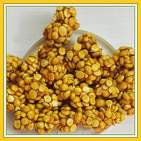 Grand Sweets & Snacks- Fried gram with Sweet Ball (Pottu Kadalai Urundai) (250 Gms)