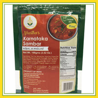 Shastha Ready to Eat (RTE) Instant Karnataka Sambar Mix 100 gms