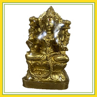 Lord Lakshmi Idol with Golden Color
