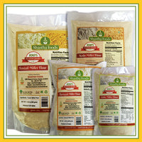 Millet Family - Healthy Choice Combo C ( 3 Millet Grains Packet included.) Choose any 2 Millet Flour