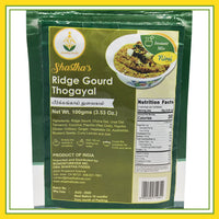 Shastha Ready to Eat (RTE) Instant Ridge Gourd Thogayal Mix 100 gms