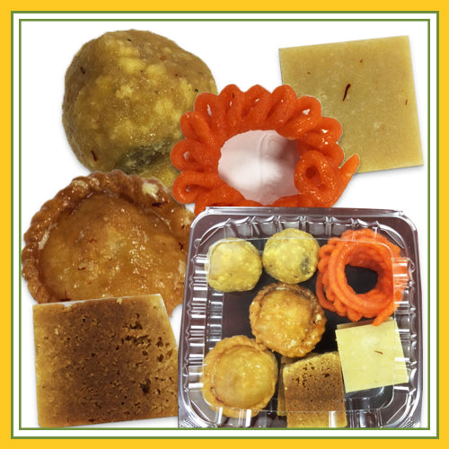 Shastha San Jose Assorted Sweets -  (Includes Free Shipping ; Made in San Jose)