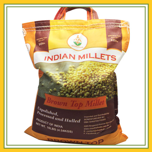 Shastha - Brown Top / Browntop Millet 10 Lbs