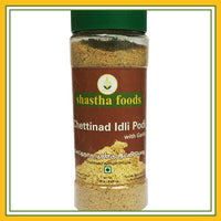 Shastha - Chettinad Idly chilli powder with Garlic (120 Gms)
