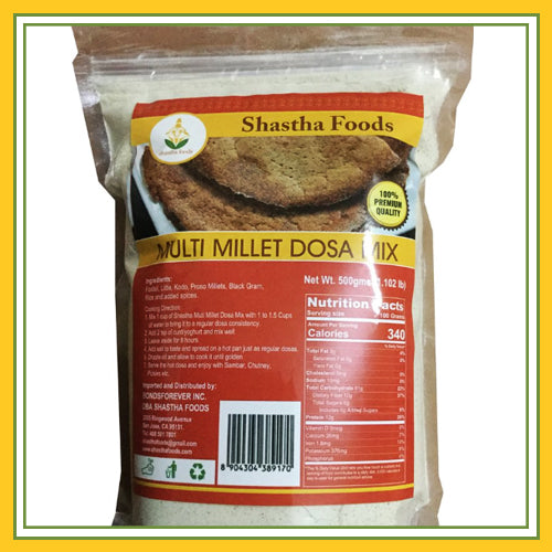 Shastha - Multi Millet Dosa Mix (500 Gms)