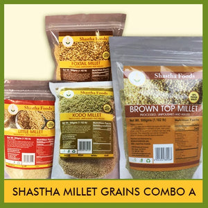 Shastha Millet Grains - 5 Pak Combo A