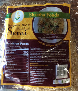 Shastha - Brown Rice Sevai (200 Gms)