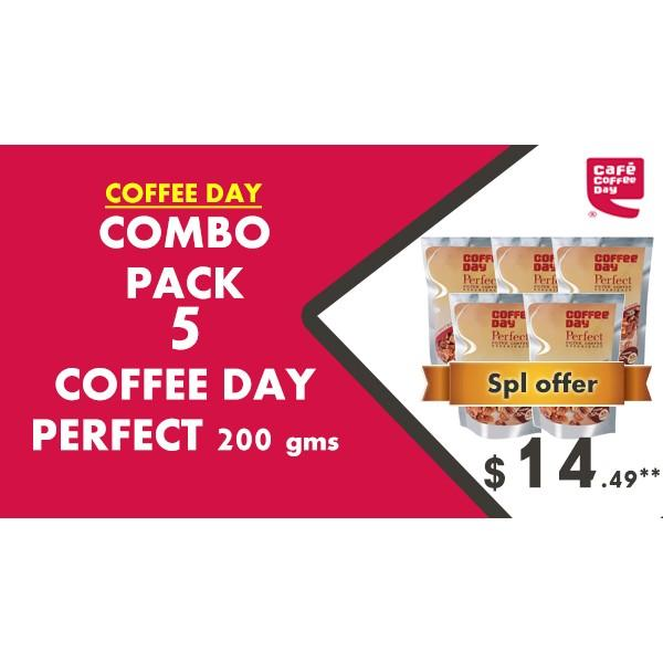 Coffee Day PERFECT 200g - Combo Pack