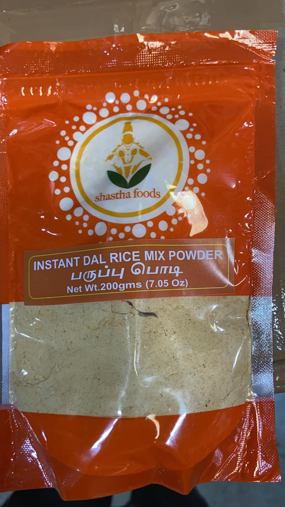 Shastha Dhall (paruppu podi) Rice Mix Powder (200 gms)