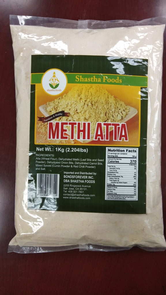 Shastha Atta with Methi