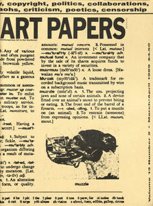 ART PAPERS 13.02 - Mar/Apr 1989