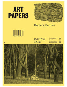 ART PAPERS 42.03 - Fall 2018