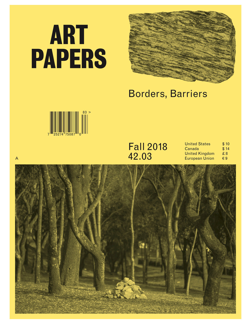 ART PAPERS 42.03 - Fall 2018/2019