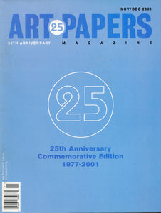 ART PAPERS 25.06 - Nov/Dec 2001