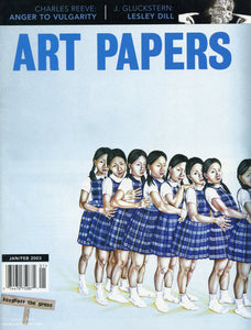 ART PAPERS 27.01 - Jan/Feb 2003 - SOLD OUT