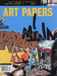 ART PAPERS 27.03 - May/June 2003 - SOLD OUT