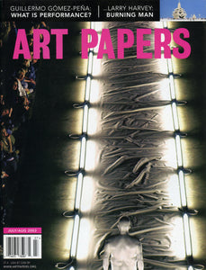 ART PAPERS 27.04 - July/Aug 2003 - SOLD OUT