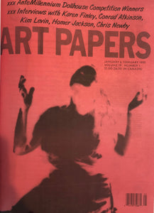 ART PAPERS 19.01 - Jan/Feb 1995 - SOLD OUT