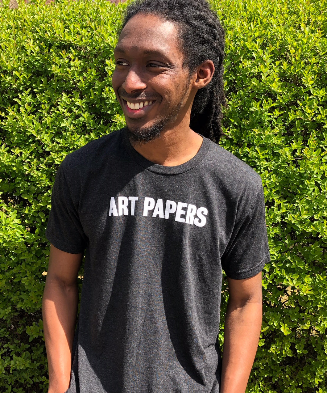 ART PAPERS T-Shirt - GRAY