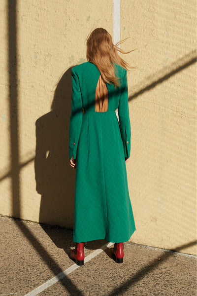 *Pre Order*Backless Dress(Green)