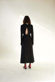 Backless Dress(Black)