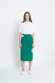 Color Blocking Skirt (Green)