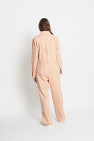 Cotton Jumpsuit (Salmon)