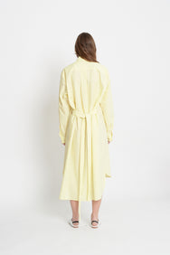 Long Shirt Dress (Yellow)