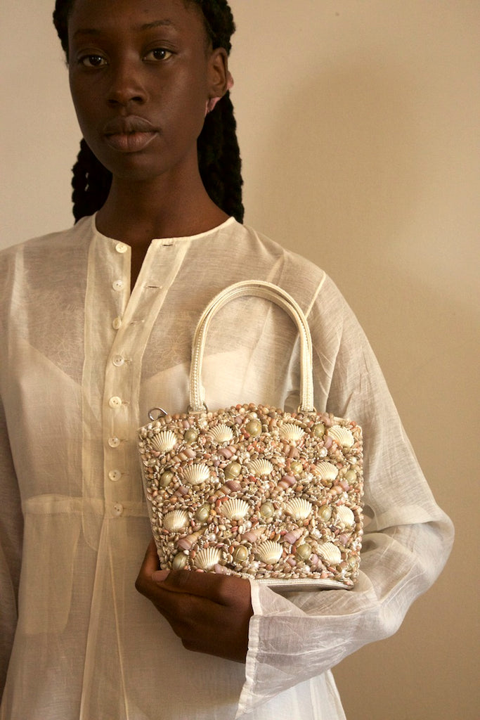 She Sells Seashells Evening Bag