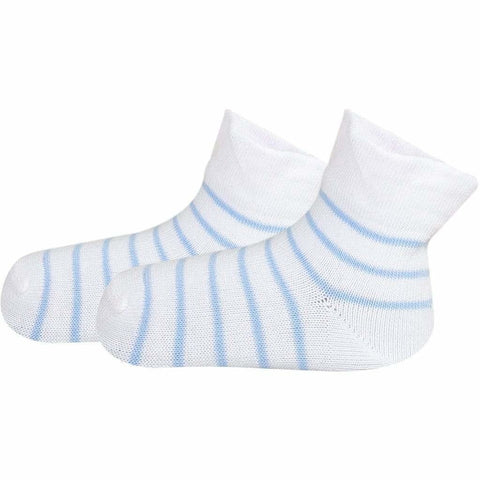 SOXESSORY 2019 $8.99 Baby Boy Grey Socks With White Stripes Super Soft