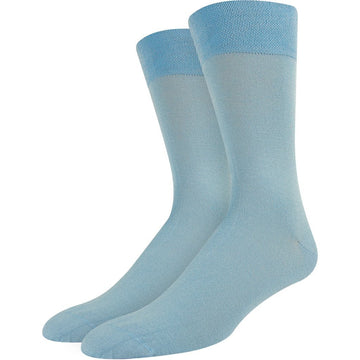 Bamboo Men's Socks - Business / Crew Size, Breathable, Moisture Wicking, Soft and Natural, Green Color