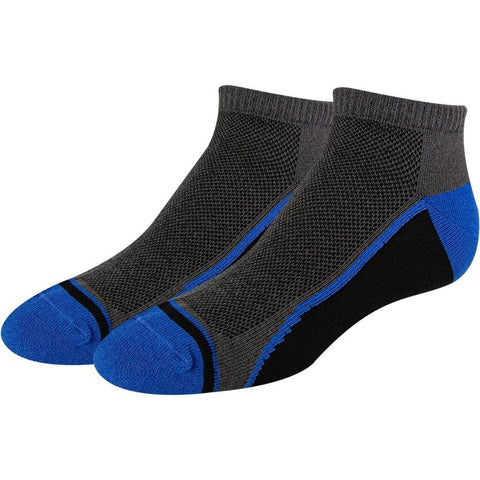 SOXESSORY 2019 $8.99 Boys Black With Blue Mercerized Cotton Socks