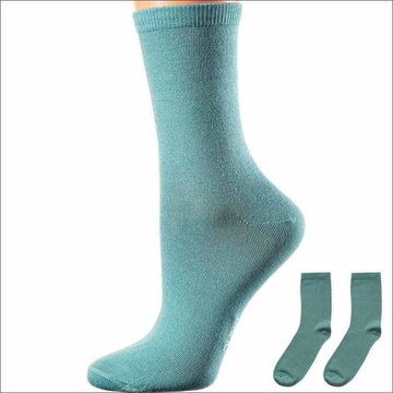 Crew Socks Women Love, Seamless, Mercerized Cotton Socks, Easy To Wash, Long Lasting, Moisture Wicking and Breathable