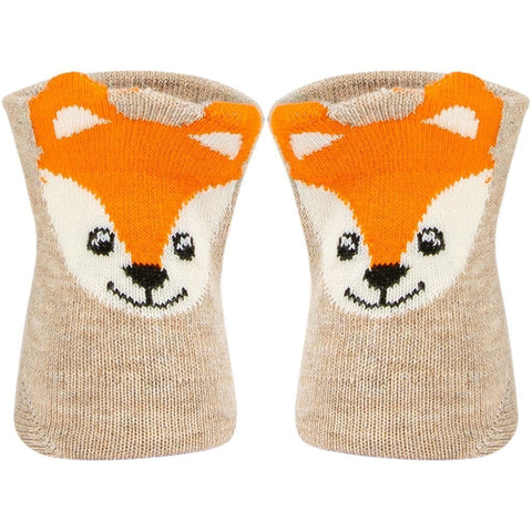 SOXESSORY 2019 $8.99 Cutest Baby Boys Socks Fox Print In The Back