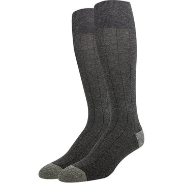 Men Business Socks, Grey, Top Quality, Breathable Cotton, Seamless and Easy To Wash