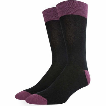 Men's Business Socks, Nice Colors, Turkish Mercerized Cotton, Super Soft, Long Lasting, Durable, Hand Linked Toes and Seamless