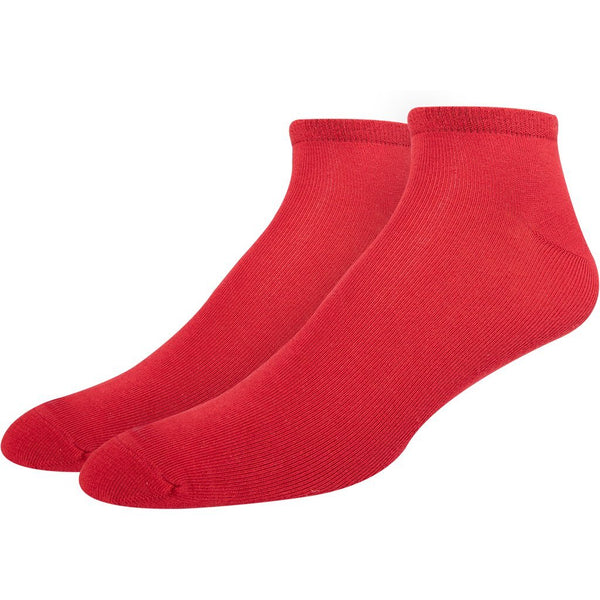 SOXESSORY 2019 $9.99 Mens Red - Ferrari Color Seamless Socks Turkish