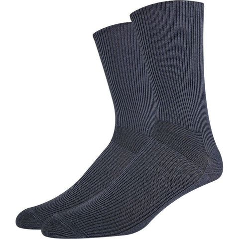 SOXESSORY 2019 $13.99 Mens Ribbed Texture Mercerized Cotton Socks